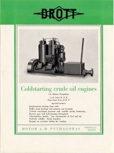 Coldstarting crude oil engines